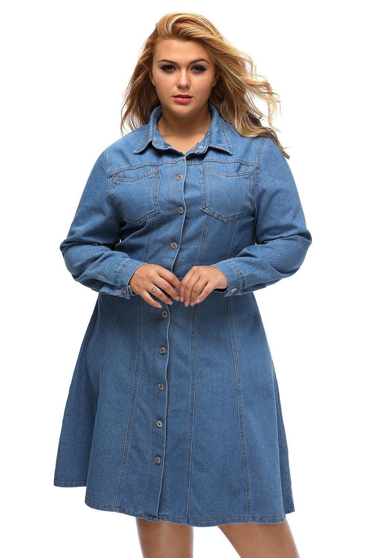jean dresses plus size image collections - dresses design ideas