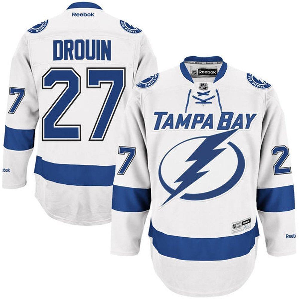 Jonathan drouin jersey - Nhl Tampa Bay Lightning 27 Jonathan Drouin Men S Premier Jersey White Color Size Xl